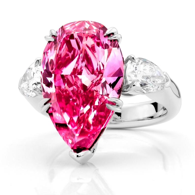 Pink-Diamond-Jewelry 60 Magnificent & Breathtaking Colored Stone Engagement Rings