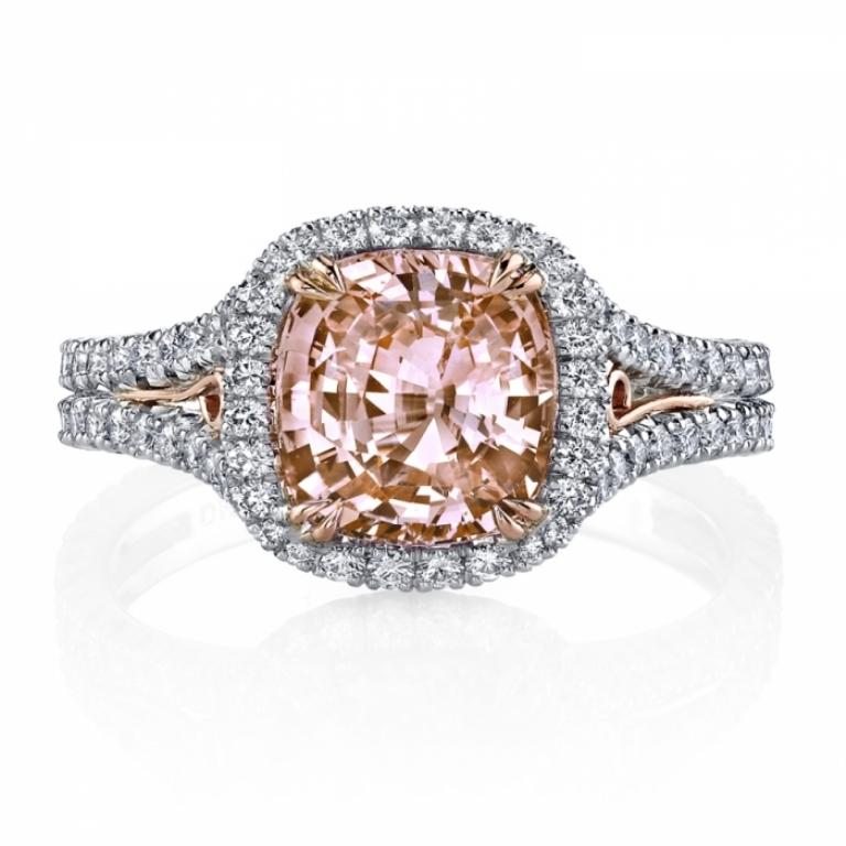 RC1004OSCU-OrangeSapphireDiamondRing1 40 Elegant Orange Sapphire Rings for Different Occasions