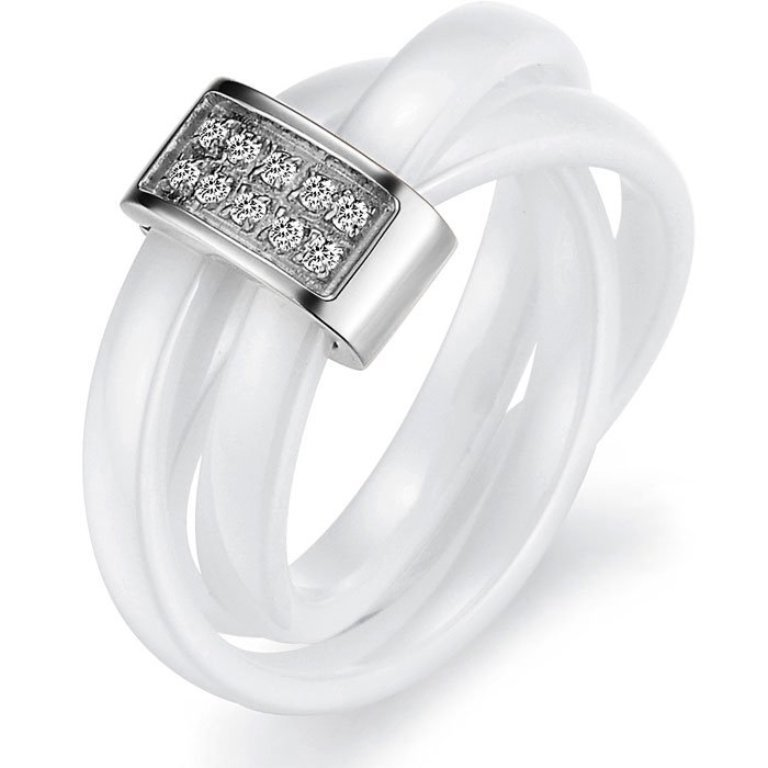 RG01041 60 Unbelievable Ceramic Wedding Bands for Him & Her