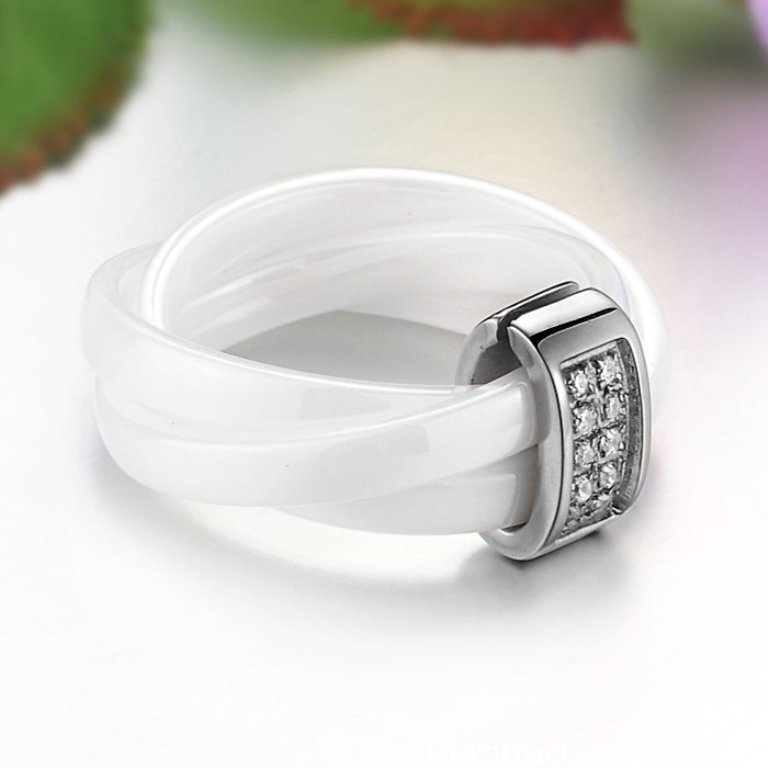 RG01042 60 Unbelievable Ceramic Wedding Bands for Him & Her