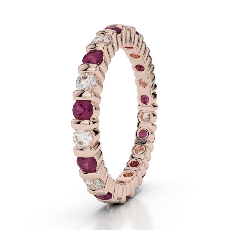 RGold_Ruby_Eternity_Ring_1093 55 Fascinating & Marvelous Ruby Eternity Rings