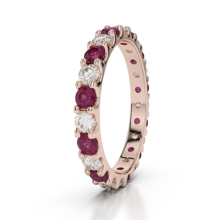 RGold_Ruby_Eternity_Ring_1105 55 Fascinating & Marvelous Ruby Eternity Rings