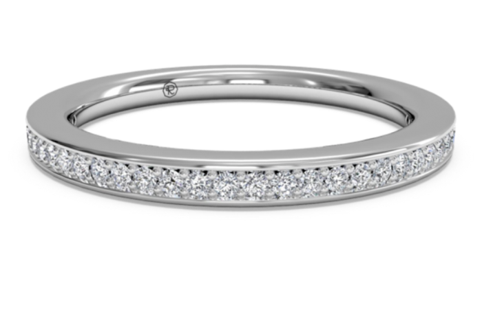 RITANI_ENDLESS_LOVE_MICROPAVE_DIAMOND_WEDDING_BAND_21694_marshall_pierce_chicago 60 Breathtaking & Marvelous Diamond Wedding bands for Him & Her