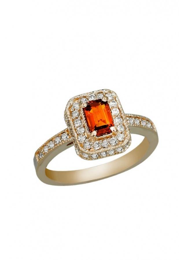 RP0C020DO41 40 Elegant Orange Sapphire Rings for Different Occasions