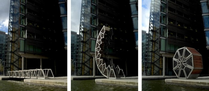 Rolling-Bridge Have You Ever Seen Breathtaking & Weird Bridges Like These Before?