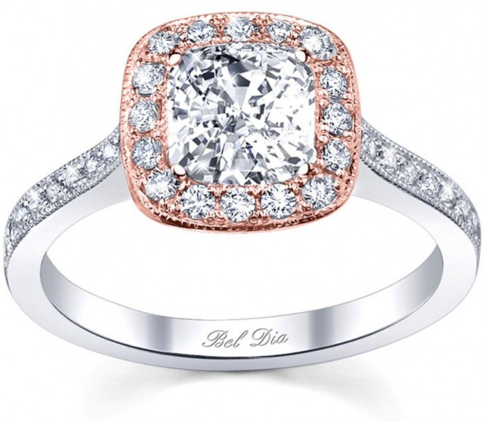 Rose-Gold-Engagement-Ring-Settings Top 70 Dazzling & Breathtaking Rose Gold Engagement Rings