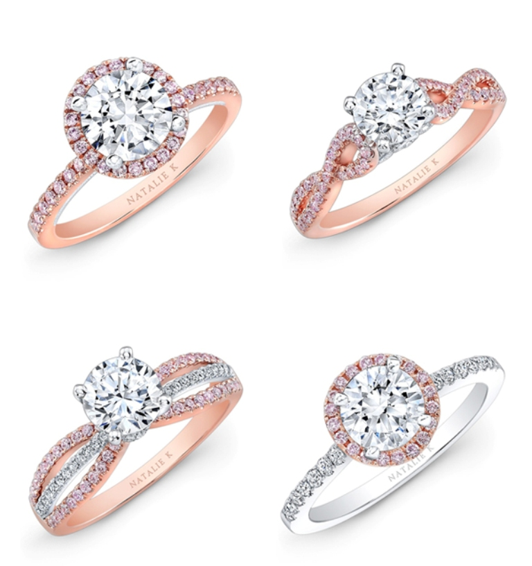 Rose-gold-ring03-NatalieK Top 70 Dazzling & Breathtaking Rose Gold Engagement Rings