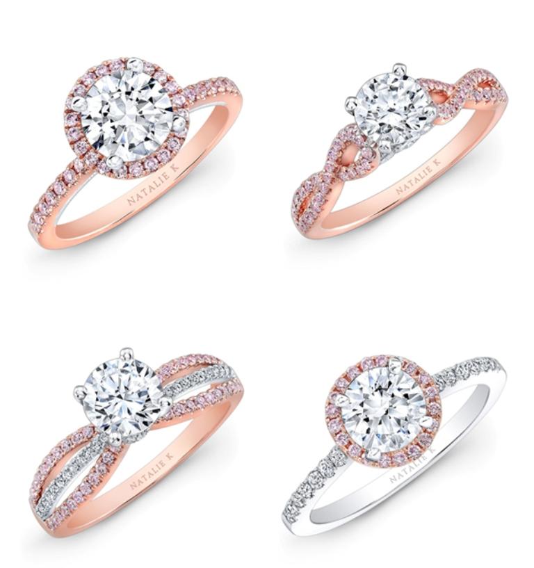 Rose-gold-ring03-NatalieK Top 70 Dazzling & Breathtaking Rose Gold Engagement Rings