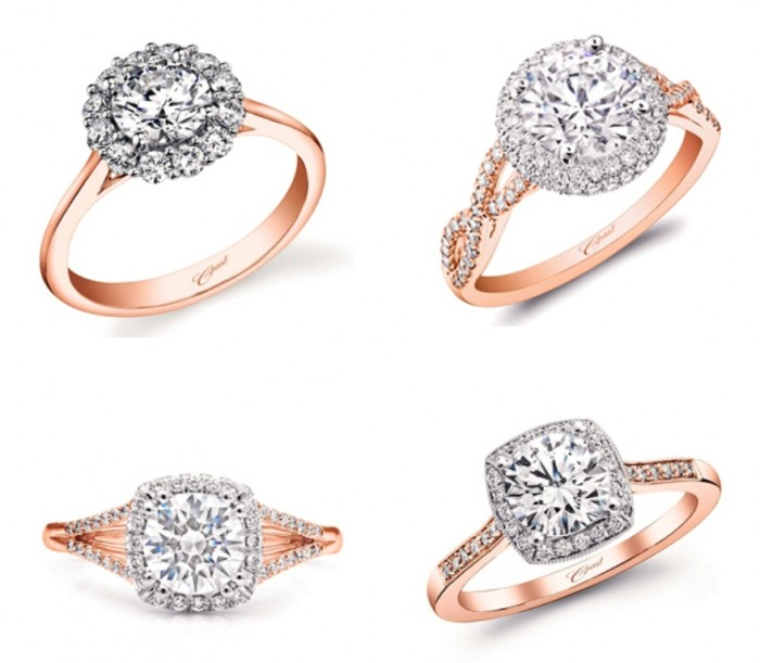 Rose-gold-ring06-Coast-Diamond Top 70 Dazzling & Breathtaking Rose Gold Engagement Rings