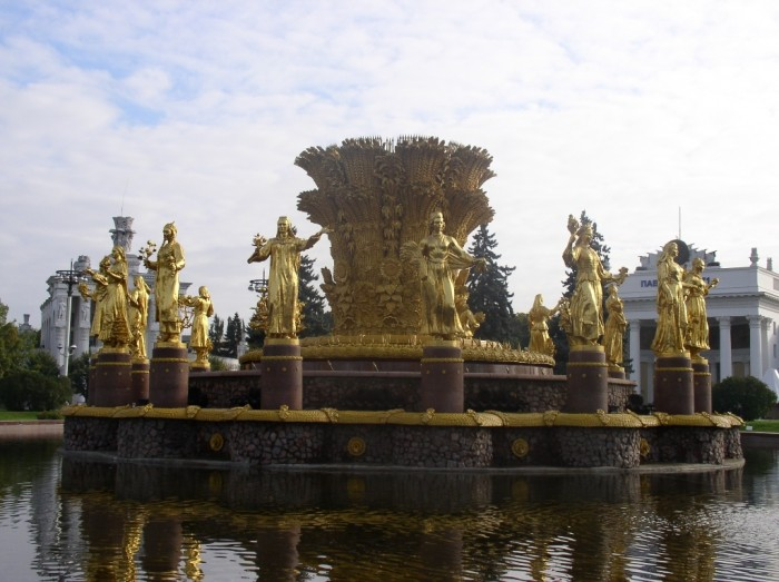 Russia-Moscow-VDNH-Fountain-1 Top 10 Richest Governments in the World
