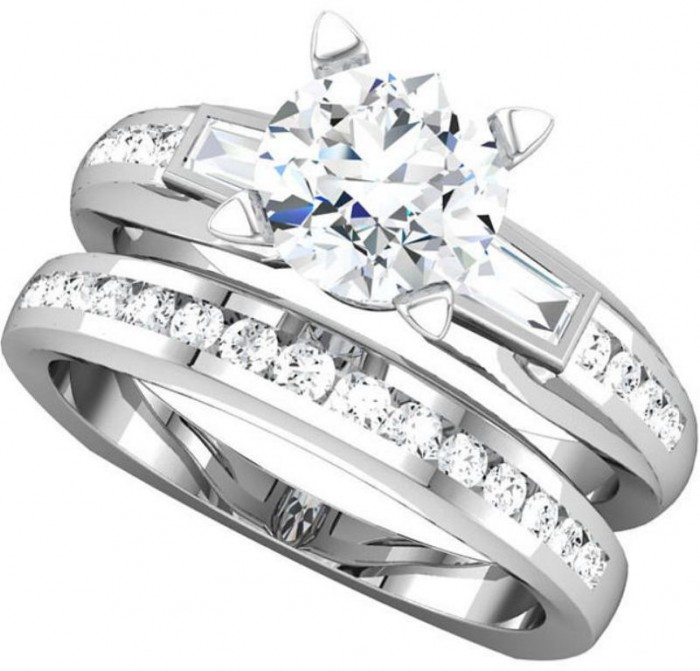 SLR-68874 35 Fascinating & Stunning Round Solitaire Engagement Rings