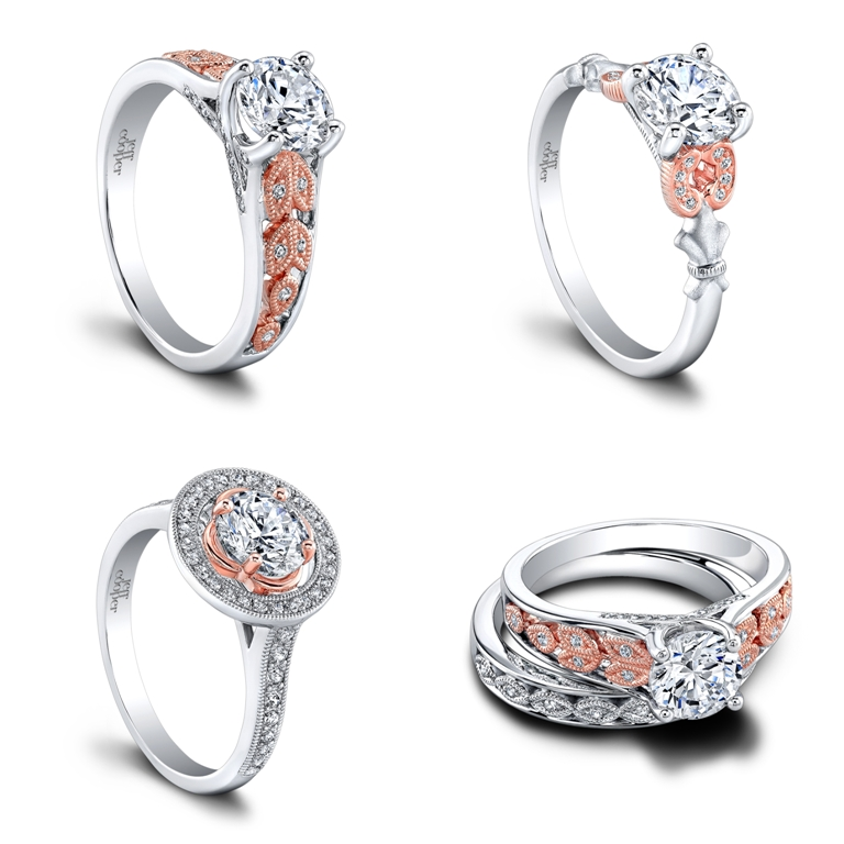 SRP-1635TT-RD6-tile Top 70 Dazzling & Breathtaking Rose Gold Engagement Rings