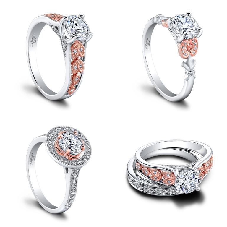 SRP-1635TT-RD6-tile Top 70 Dazzling & Breathtaking Rose Gold Engagement Rings