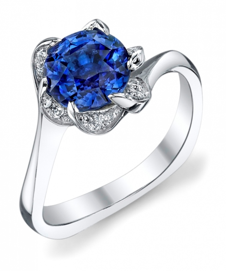 SapphireRing 60 Magnificent & Breathtaking Colored Stone Engagement Rings