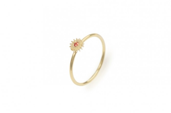 Small_Gold_Up_Orange 40 Elegant Orange Sapphire Rings for Different Occasions
