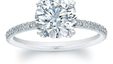 Photo of 35 Fascinating & Stunning Round Solitaire Engagement Rings