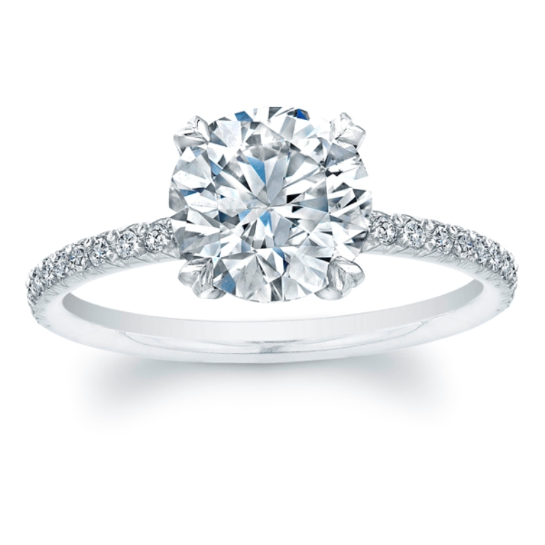 Solitaire-Engagement-Rings 35 Fascinating & Stunning Round Solitaire Engagement Rings