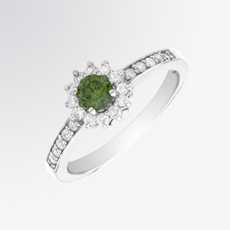 T4143W-GD-a_1_grande 30 Fascinating & Dazzling Green diamond rings