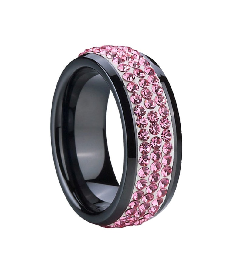 TCR1717_01__59182_zoom 60 Unbelievable Ceramic Wedding Bands for Him & Her