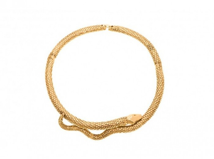 Tao-necklace-2-18K-Gold-plated 30 Non-traditional & Unusual Gold Necklaces