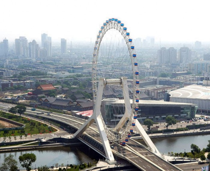 Tianjin-Eye Have You Ever Seen Breathtaking & Weird Bridges Like These Before?