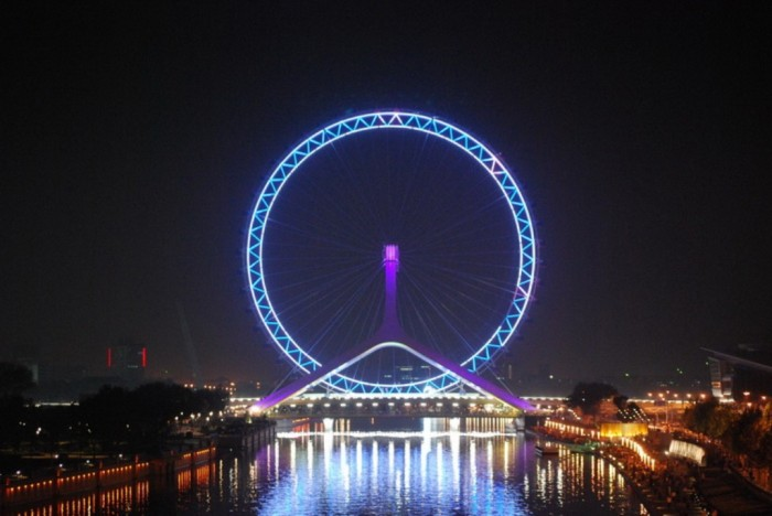 Tianjin-eye-6 Have You Ever Seen Breathtaking & Weird Bridges Like These Before?