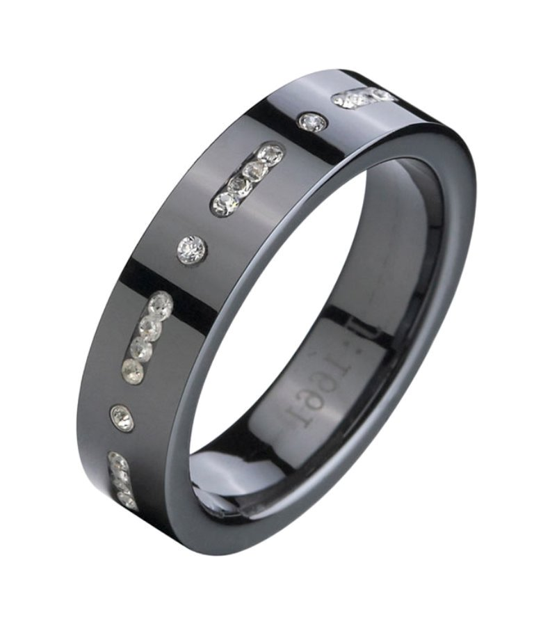 TungsTen-Rings-FB1661-888_04 60 Unbelievable Ceramic Wedding Bands for Him & Her