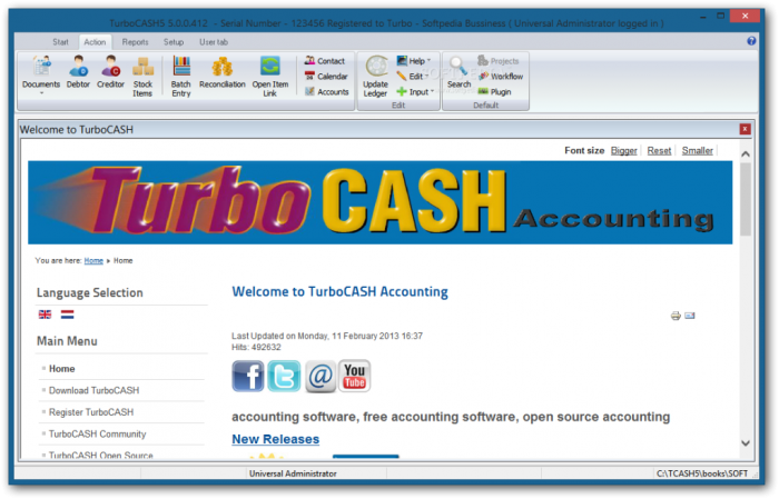 TurboCASH_20 Top 10 Business Software Programs
