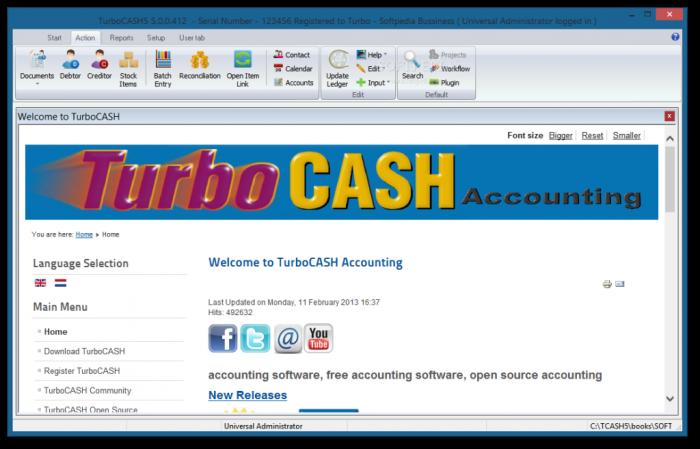 TurboCASH_20 Top 10 Business Software Programs