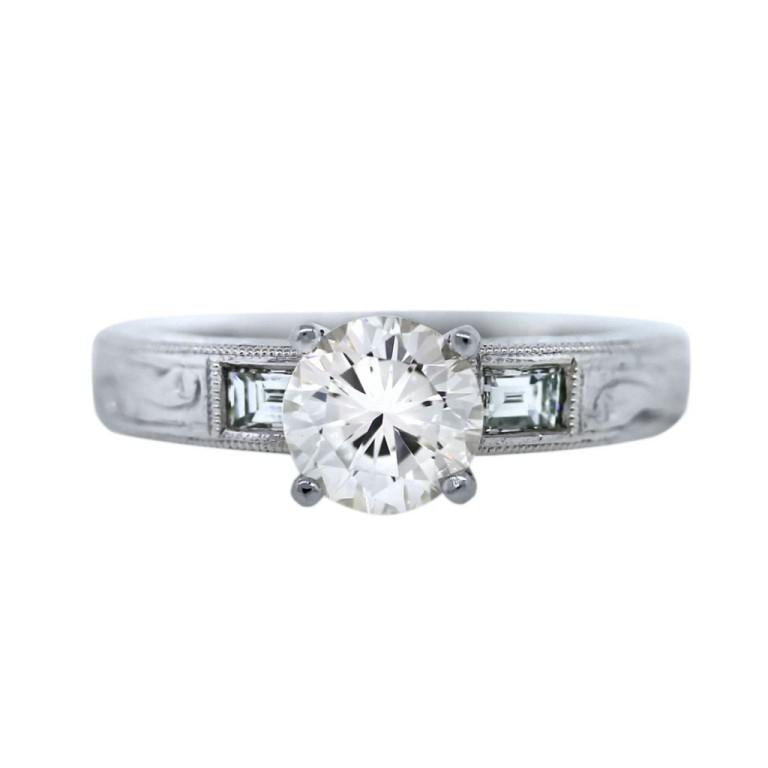 Vintage-Ring-1024x1024 50 Unique Vintage Classic Diamond Engagement Rings