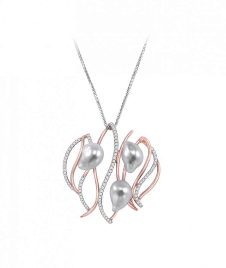 W10039 50 Unique Diamond Necklaces & Pendants