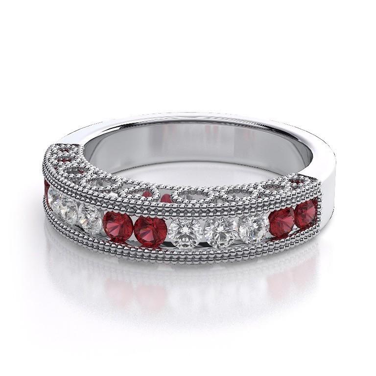 WB1122R-BD 35 Fabulous Antique Palladium Engagement Rings
