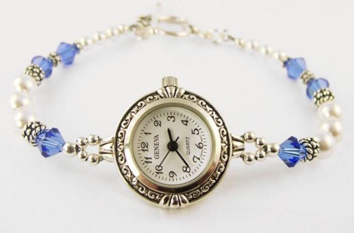 WCH23b-beaded-watches 65 Fabulous & Stunning Handmade Beaded Gemstone Jewelries
