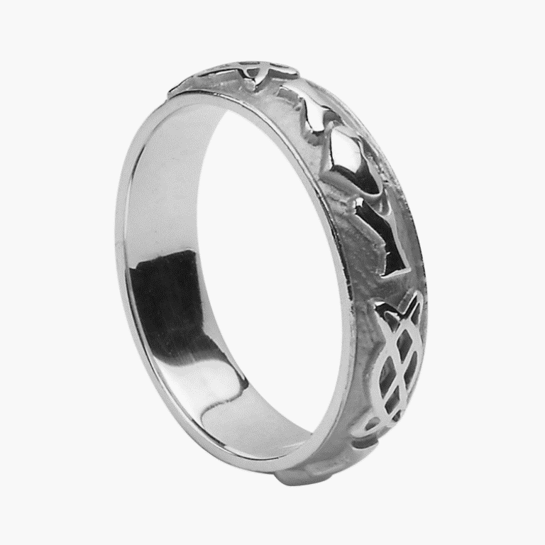 WEDZ243Sfc-1 40 Unique & Unusual Wedding Rings for Him & Her