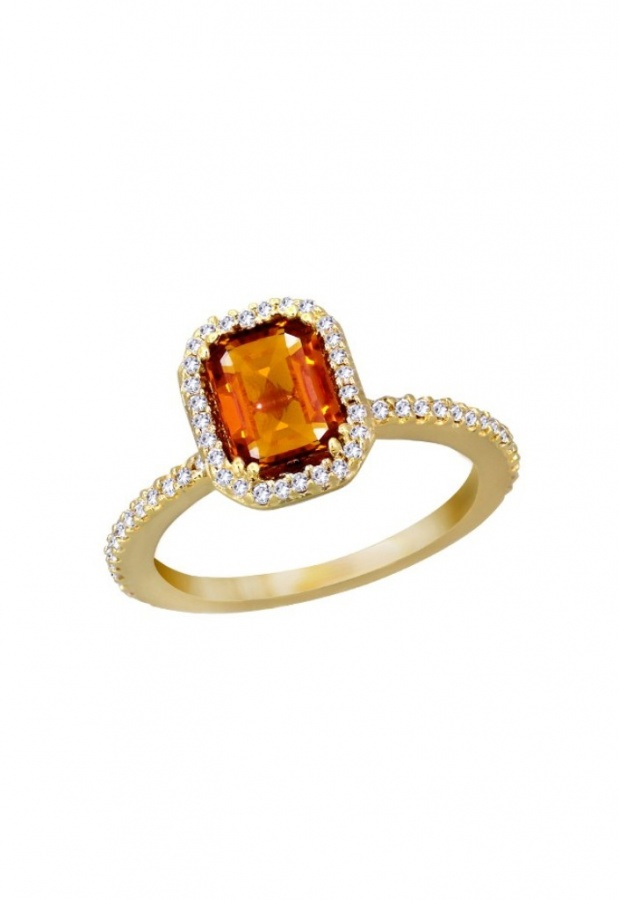 WZ0D096DO4 40 Elegant Orange Sapphire Rings for Different Occasions