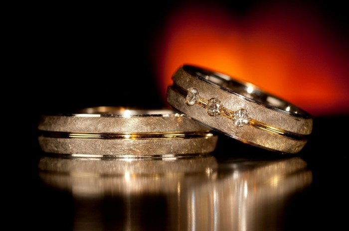 Wedding-ring 60 Breathtaking & Marvelous Diamond Wedding bands for Him & Her