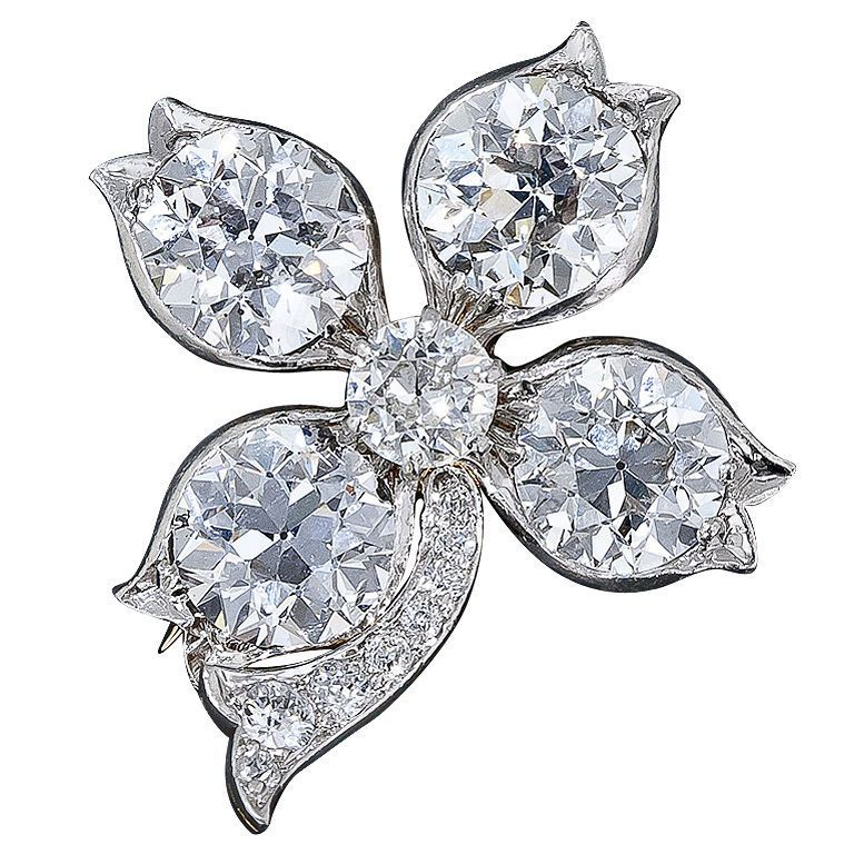 XXX_119_1316213429_1 35 Elegant & Wonderful Antique Diamond Brooches