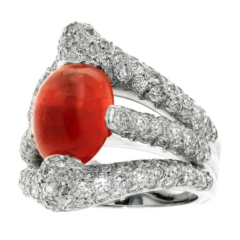 XXX_230_1370901181_1 40 Elegant Orange Sapphire Rings for Different Occasions