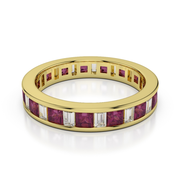 YGold_Ruby_Eternity_Ring_1141_2 55 Fascinating & Marvelous Ruby Eternity Rings