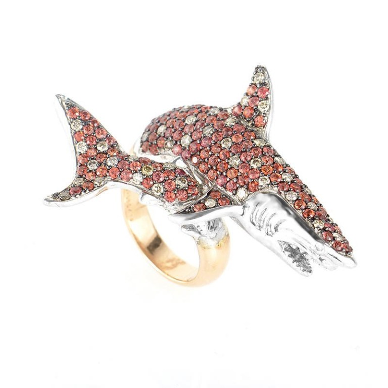 YRPZ_CRR7192_1 40 Elegant Orange Sapphire Rings for Different Occasions