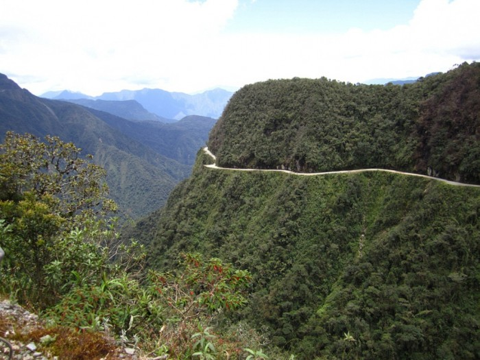 Yungas-Road-Bolivia 55 Most Fascinating & Weird Roads Like These Before?