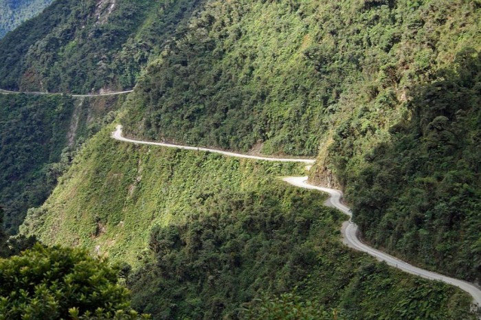 Yungas-Road 55 Most Fascinating & Weird Roads Like These Before?