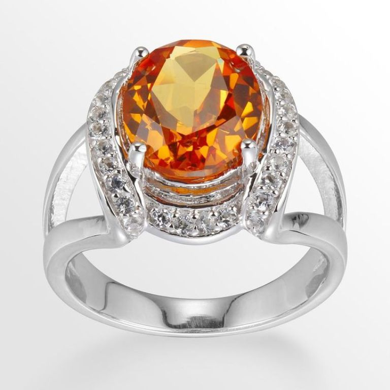 ae1d625abbace934589f8b4b87a5056a_best1 40 Elegant Orange Sapphire Rings for Different Occasions