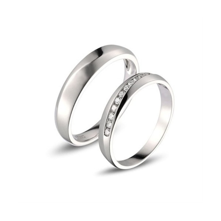 affordable-diamond-couple-wedding-bands-for-him-and-her 60 Breathtaking & Marvelous Diamond Wedding bands for Him & Her