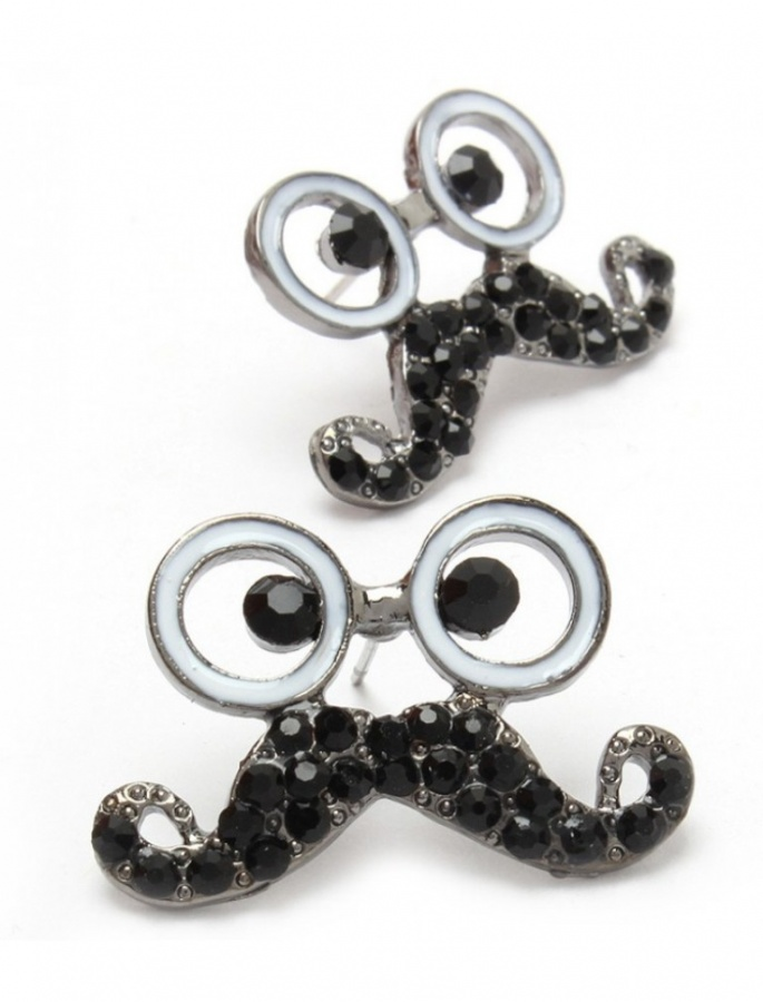 asbe8224bnblk 45 Unusual and Non-traditional Earrings