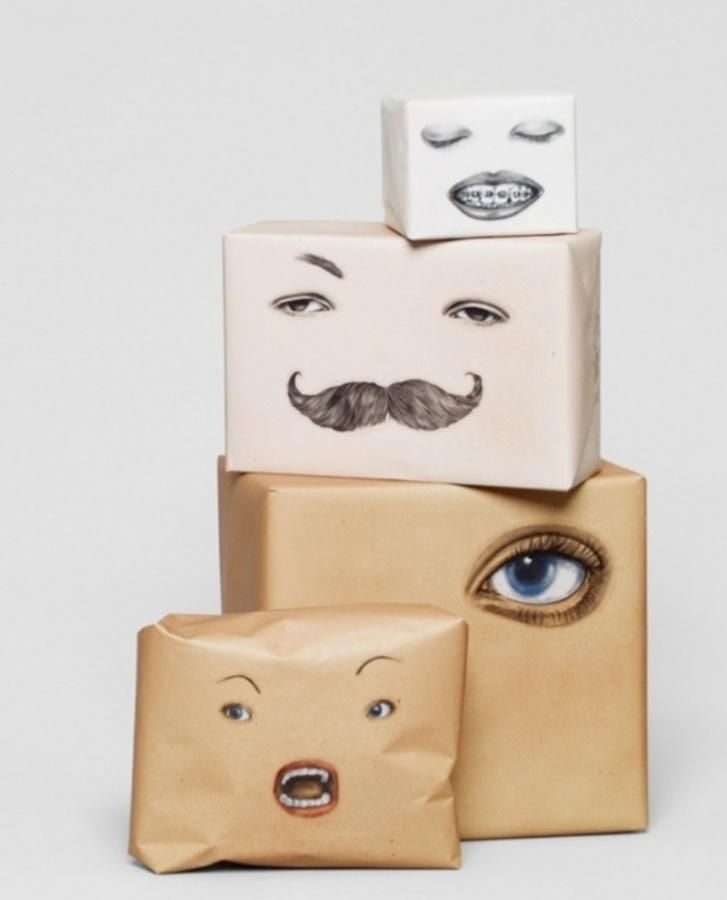 awesome-wrapping-paper-ideas 40 Creative & Unusual Gift Wrapping Ideas