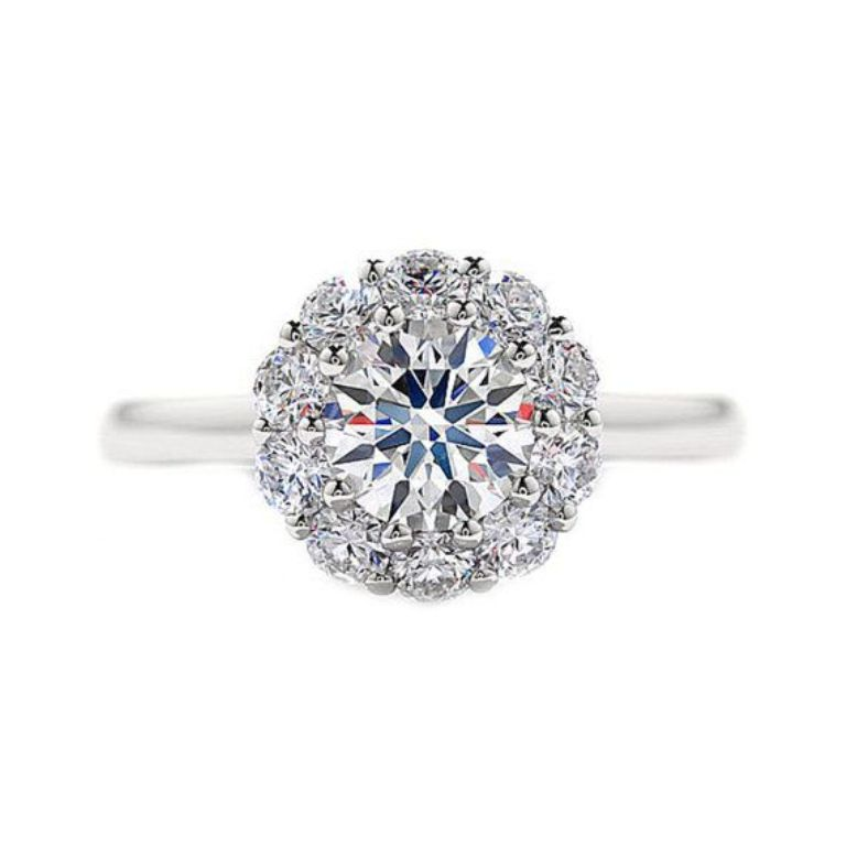 b3ed65ccfe9a149af0ea86fb0f26bc20 35 Fascinating & Stunning Round Solitaire Engagement Rings