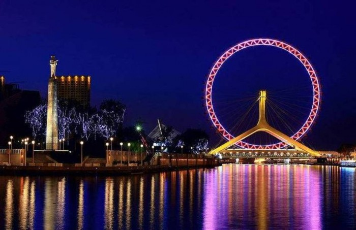 biggest-ferris-wheel-china-tianjin-eye Have You Ever Seen Breathtaking & Weird Bridges Like These Before?