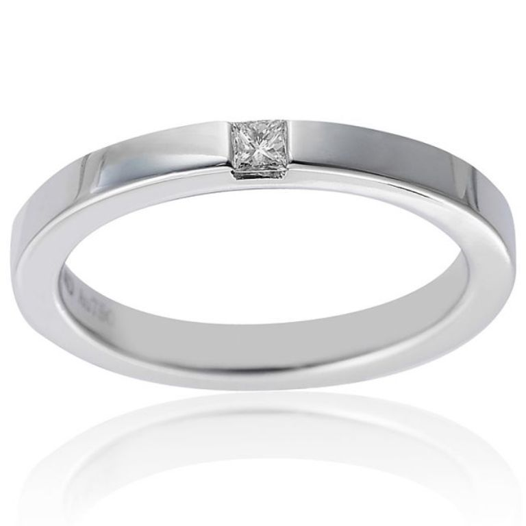 br-0-09ct-f-i1-princess-cut-diamond-wedding-band-in-18k-gold-1379_3034 60 Breathtaking & Marvelous Diamond Wedding bands for Him & Her