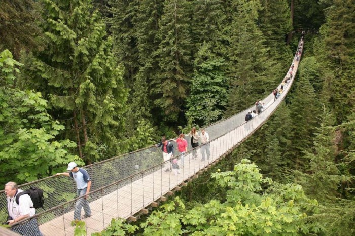 capilano03 The World's 15 Scariest Bridges that Will Freeze Your Heart